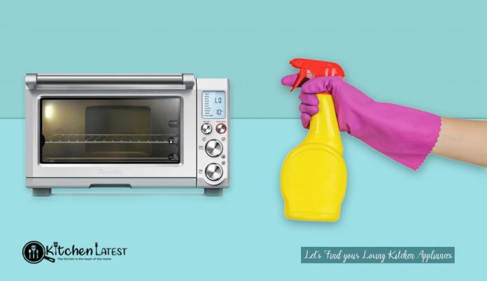 How to Clean Breville Toaster Oven